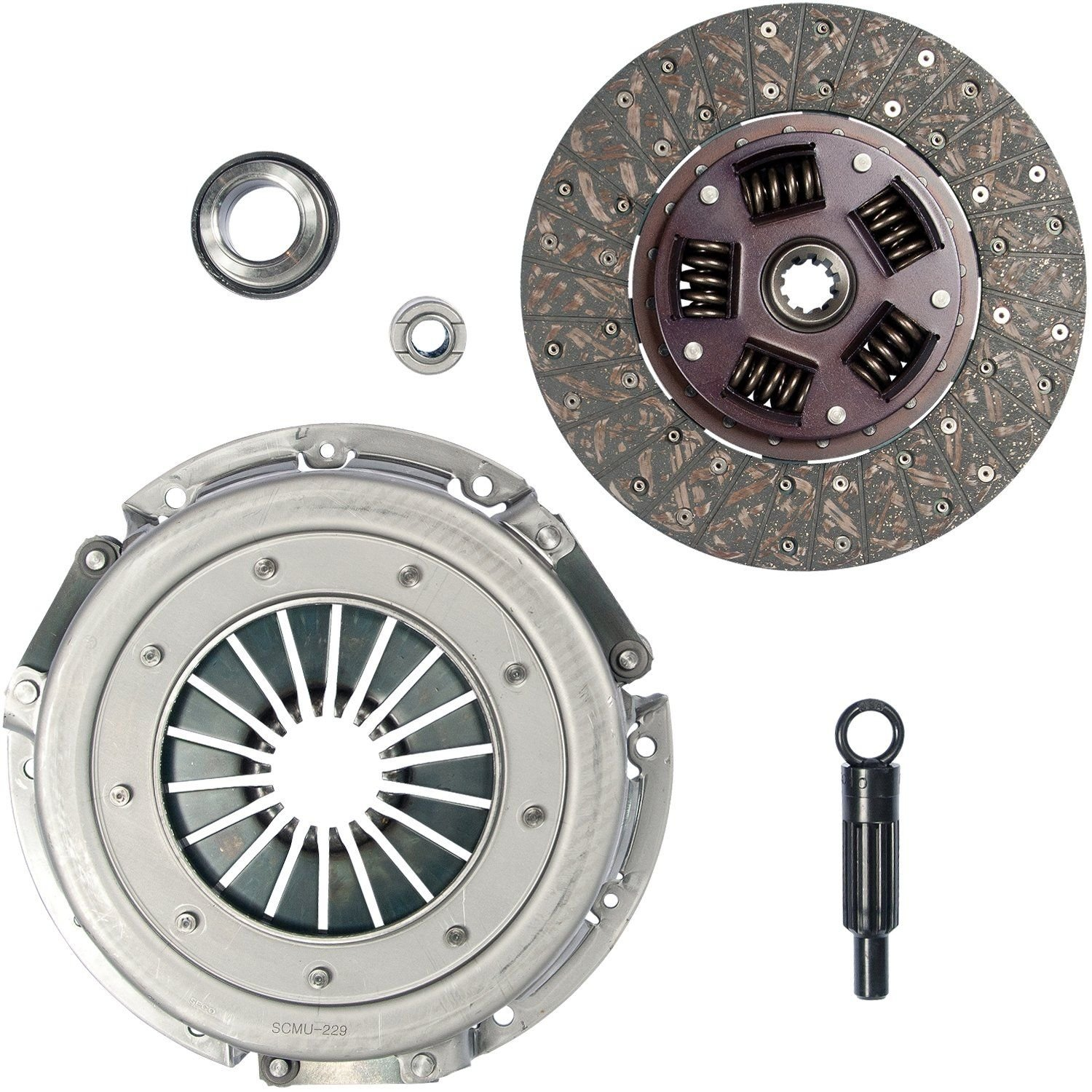 1986 Ford Mustang Clutch Kit 8 Cyl 5.0L (Rhino Pac 07-042) Created from row  number: 8534 Flywheel Spec: FLAT .
