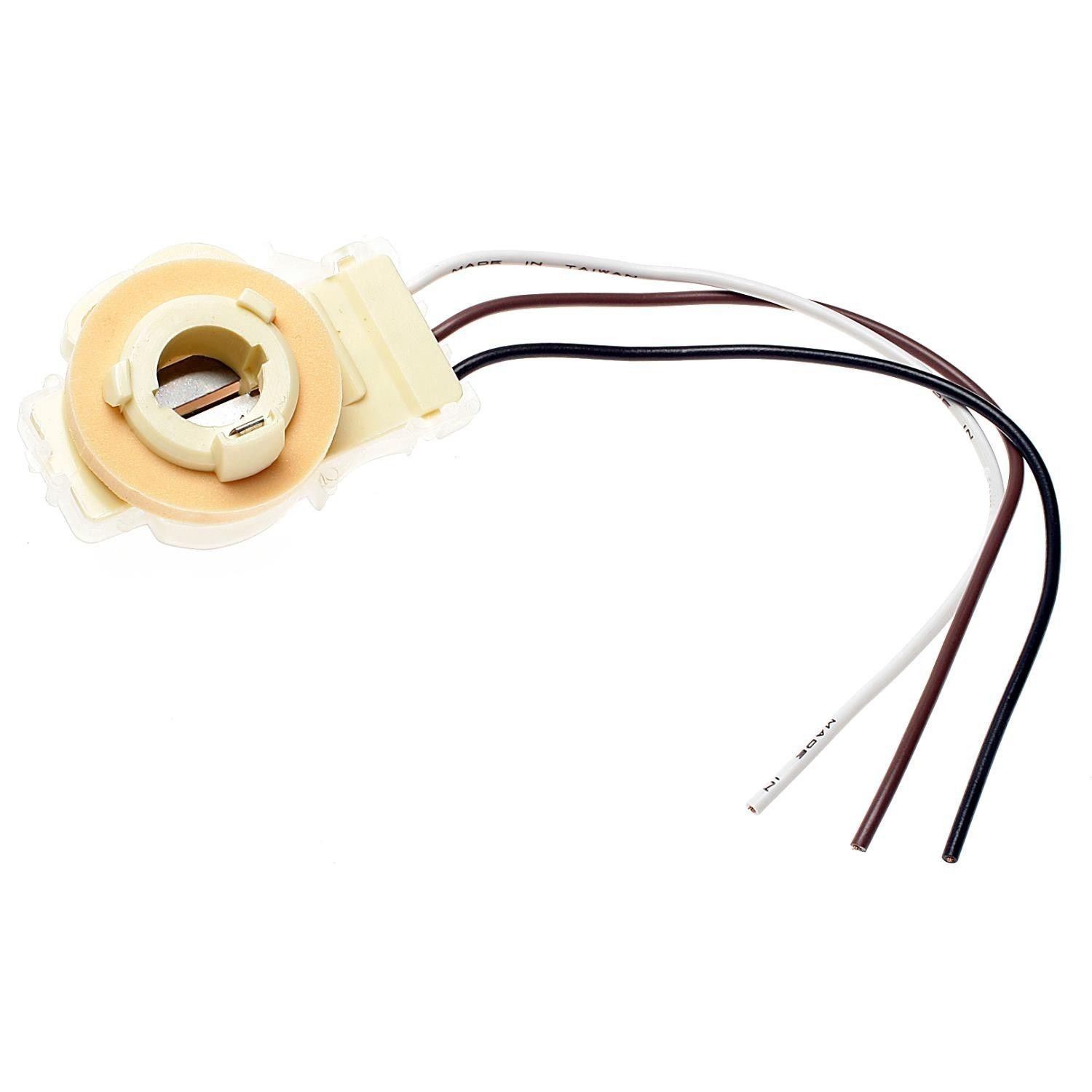 Chevrolet Impala Tail Lamp Socket Replacement Motormite Standard 1958 Chevy Light Wiring 1979 Ignition Hp4140 With 90 Deg 3 Wire