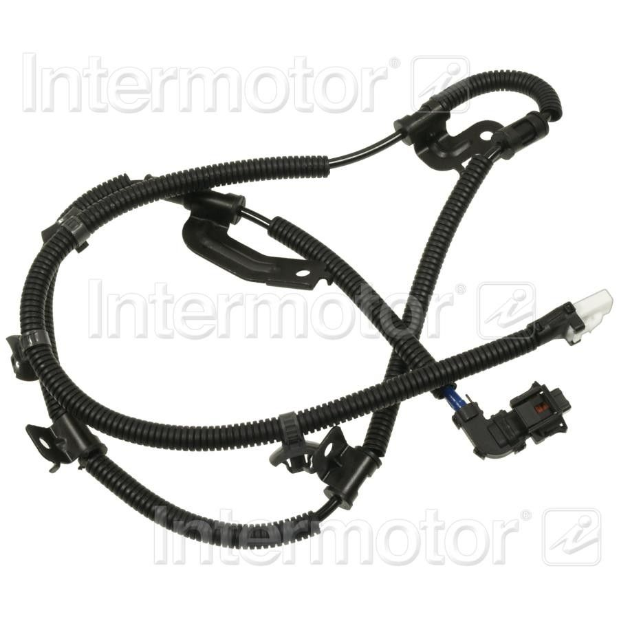 2009 hyundai genesis abs wheel speed sensor wiring harness - front left  (standard ignition als1947) genuine intermotor quality