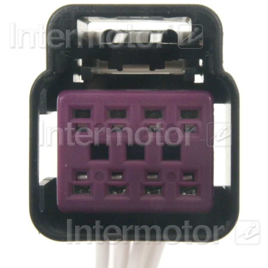 Cadillac Escalade Ext Power Seat Harness Connector Replacement 2002 Wiring 2009 Standard Ignition S 990 Black And Purple 8 Term Female