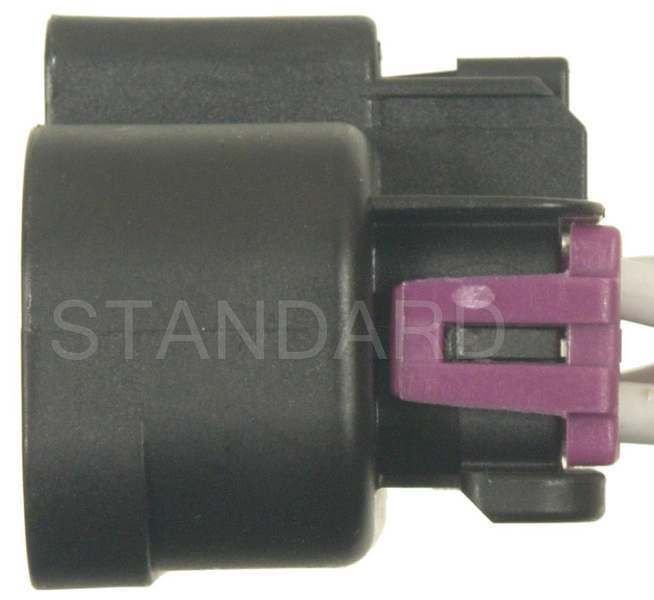 2008 chevrolet tahoe body wiring harness connector (standard ignition  s-1243) black and purple 16 term  female