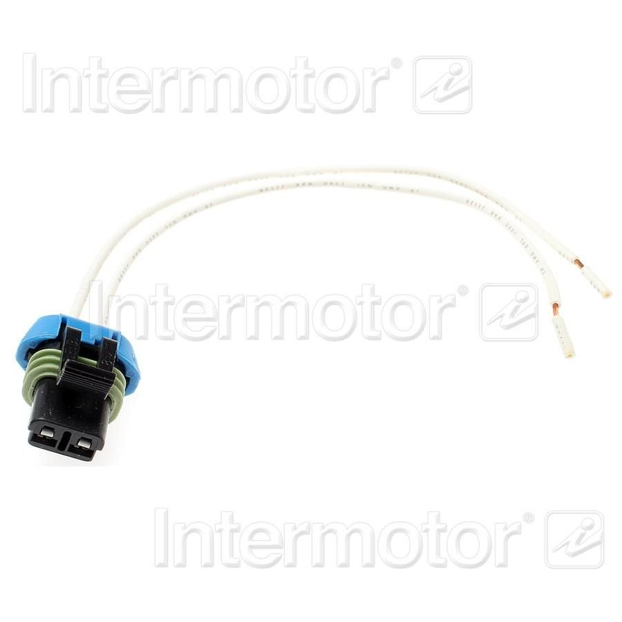Chevrolet Corsica Engine Wiring Harness Connector Replacement S 1990 Standard Ignition 689 Black 2 Term Female
