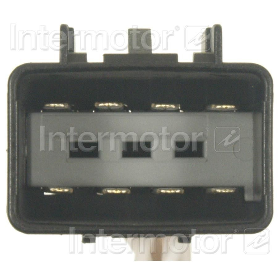 2008 Hummer H2 Body Wiring Harness Connector (Standard Ignition S-1230) w/o  Locking Tabs Black and White 8 Term. Male .