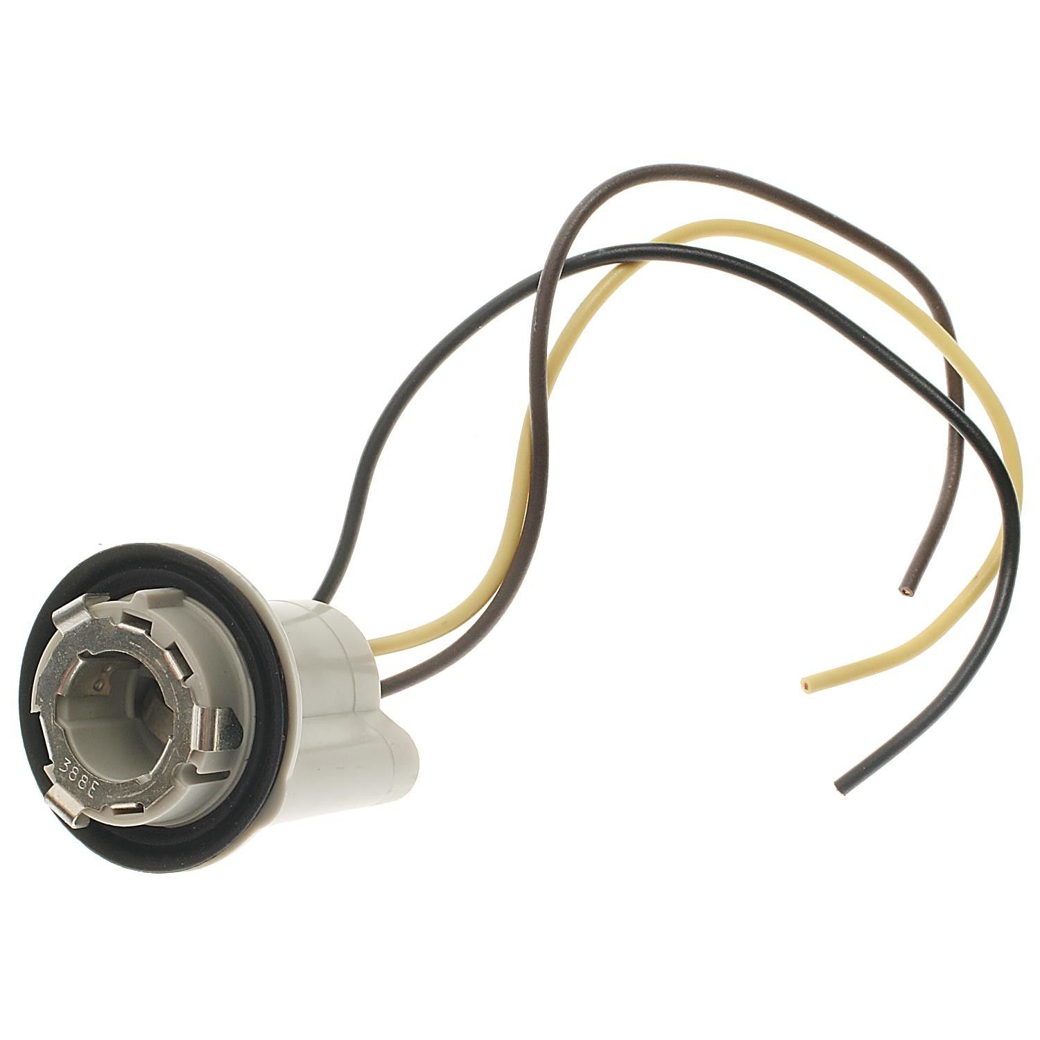 Chevrolet Impala Tail Lamp Socket Replacement Motormite Standard 1958 Chevy Light Wiring 1980 Ignition Hp4660 With Straight 3 Wire