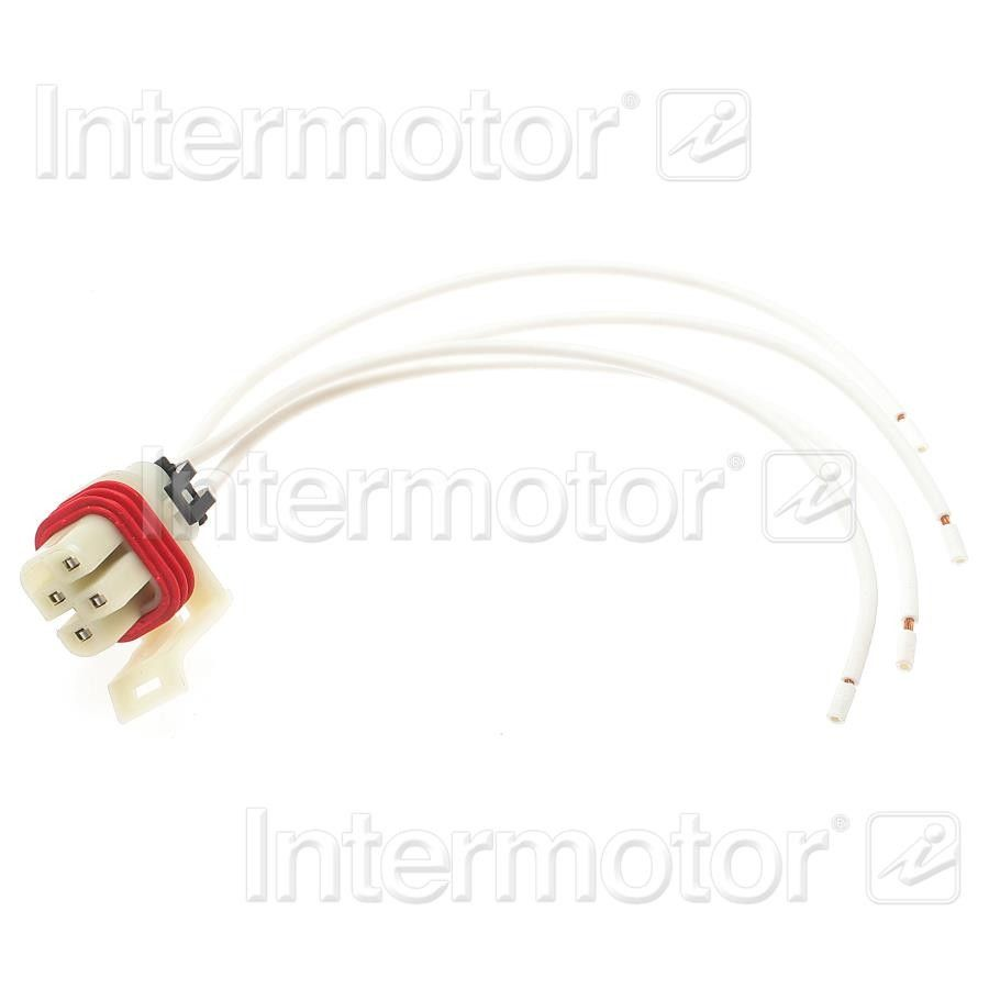 2002 Chevrolet Cavalier Body Wiring Harness Connector (Standard Ignition  S-795) Black 4 Term. Female .