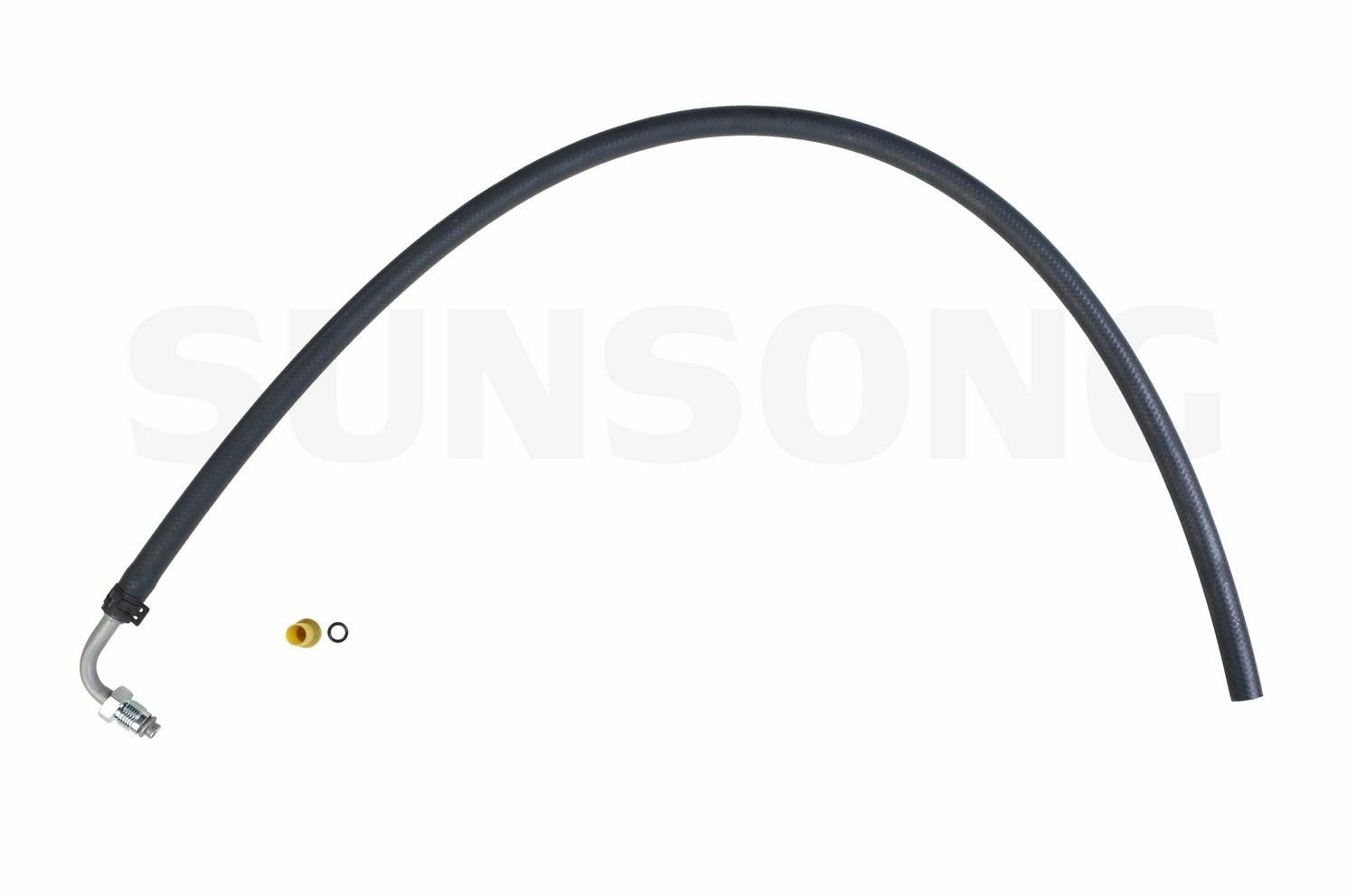 Sunsong 3402196 Power Steering Return Line Hose Assembly