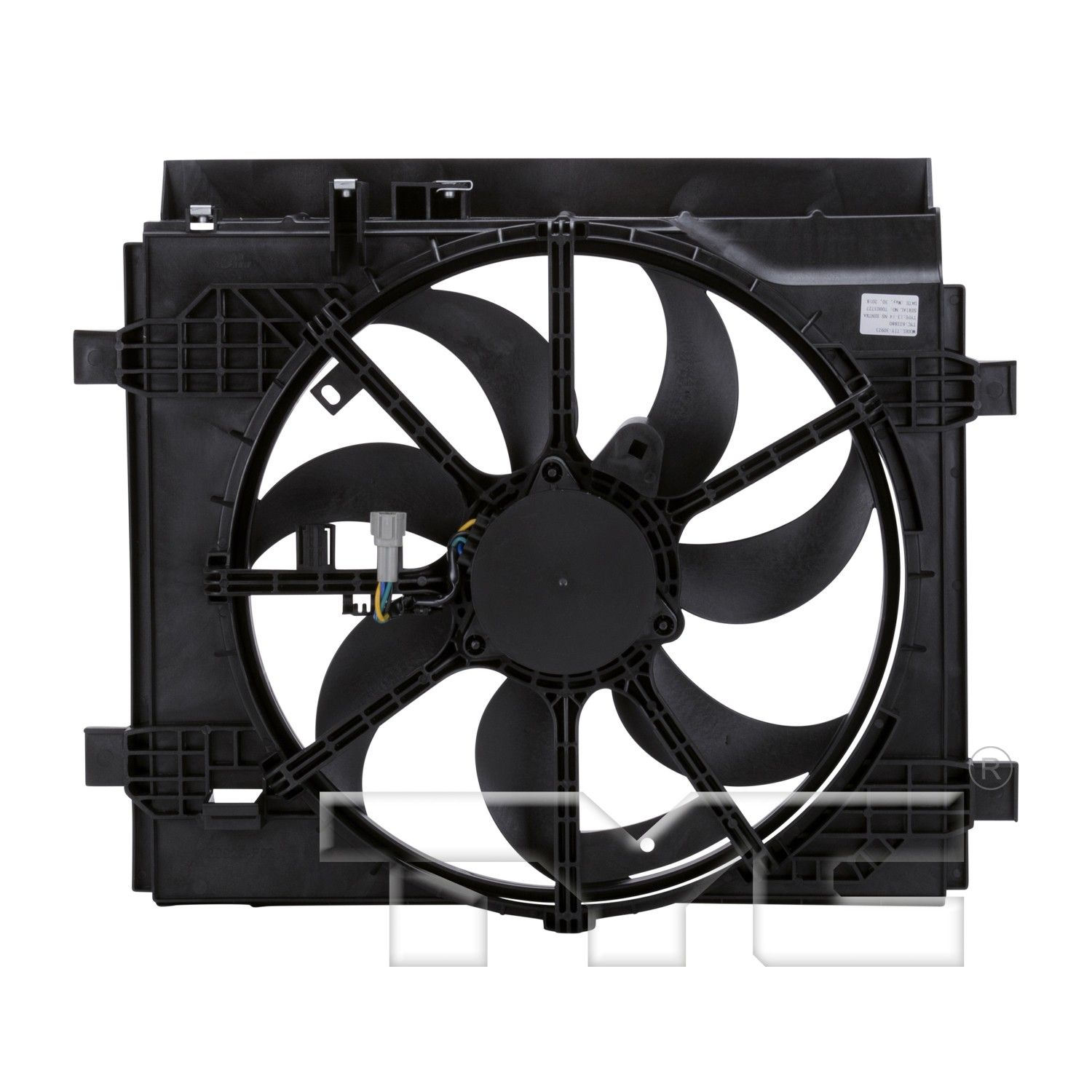 Dual Radiator Condenser Cooling Fan Assembly For Nissan Sentra 1.6 L4