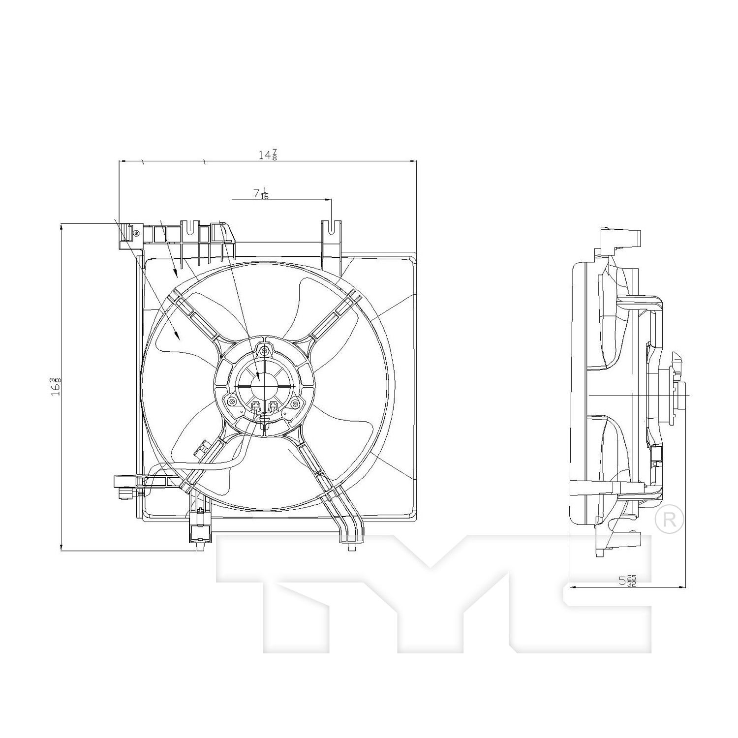 Subaru Forester Engine Cooling Fan Assembly Replacement (APDI