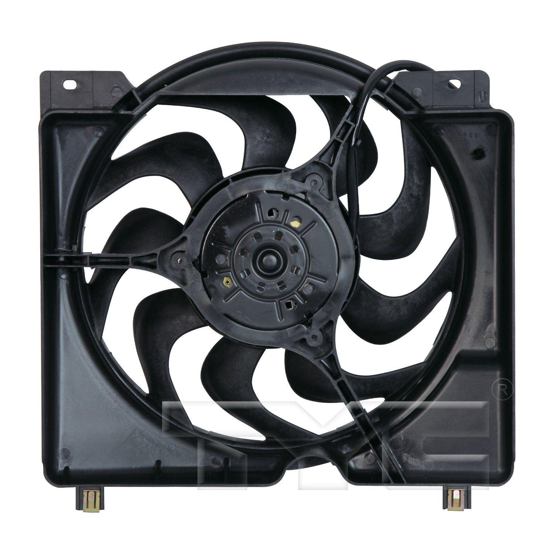 2010 Nissan Sentra Electrical Sentra Radiatorcondenserfanmotor Part