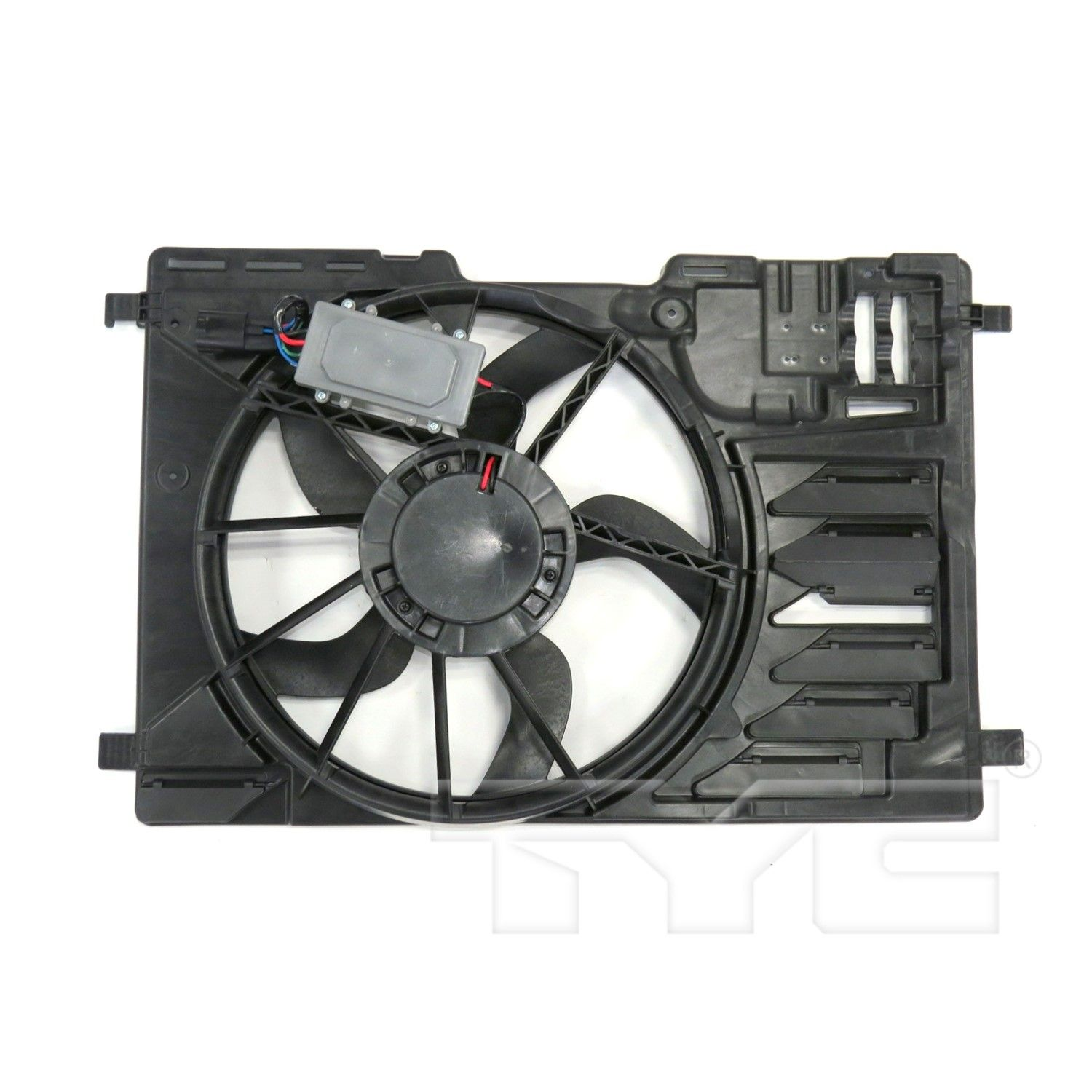 Engine Cooling Fan Assembly Spectra CF15047