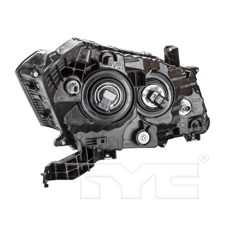 -Chrome 6 inch 100W Halogen Passenger side WITH install kit 2015 Hino 268 Post mount spotlight
