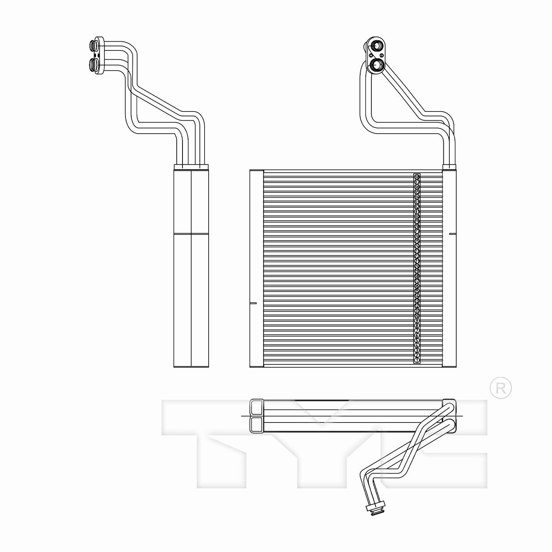 Pro Braking PBK4158-CLR-RED Front//Rear Braided Brake Line