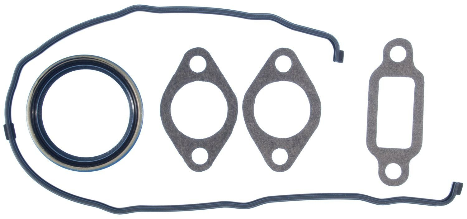 1997 chevrolet c2500 suburban engine timing cover gasket set 8 cyl 7 4l victor gaskets jv1183 requires oil pan set