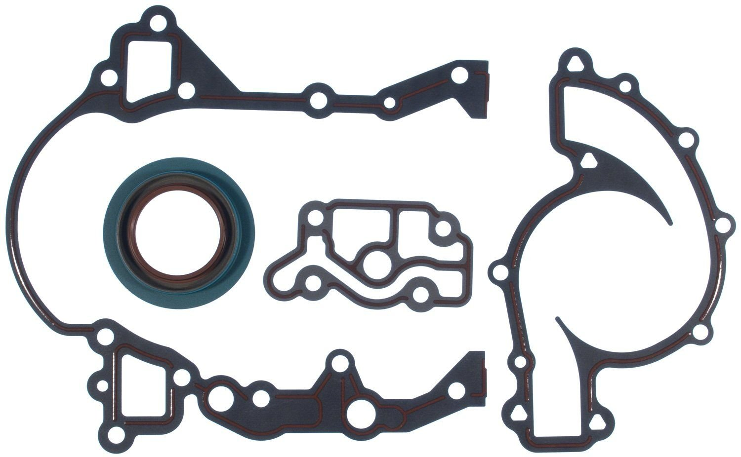 Oldsmobile 88 Engine Timing Cover Gasket Set Replacement Felpro 1992 Picture Of 6 Cyl 38l Victor Gaskets Jv1114