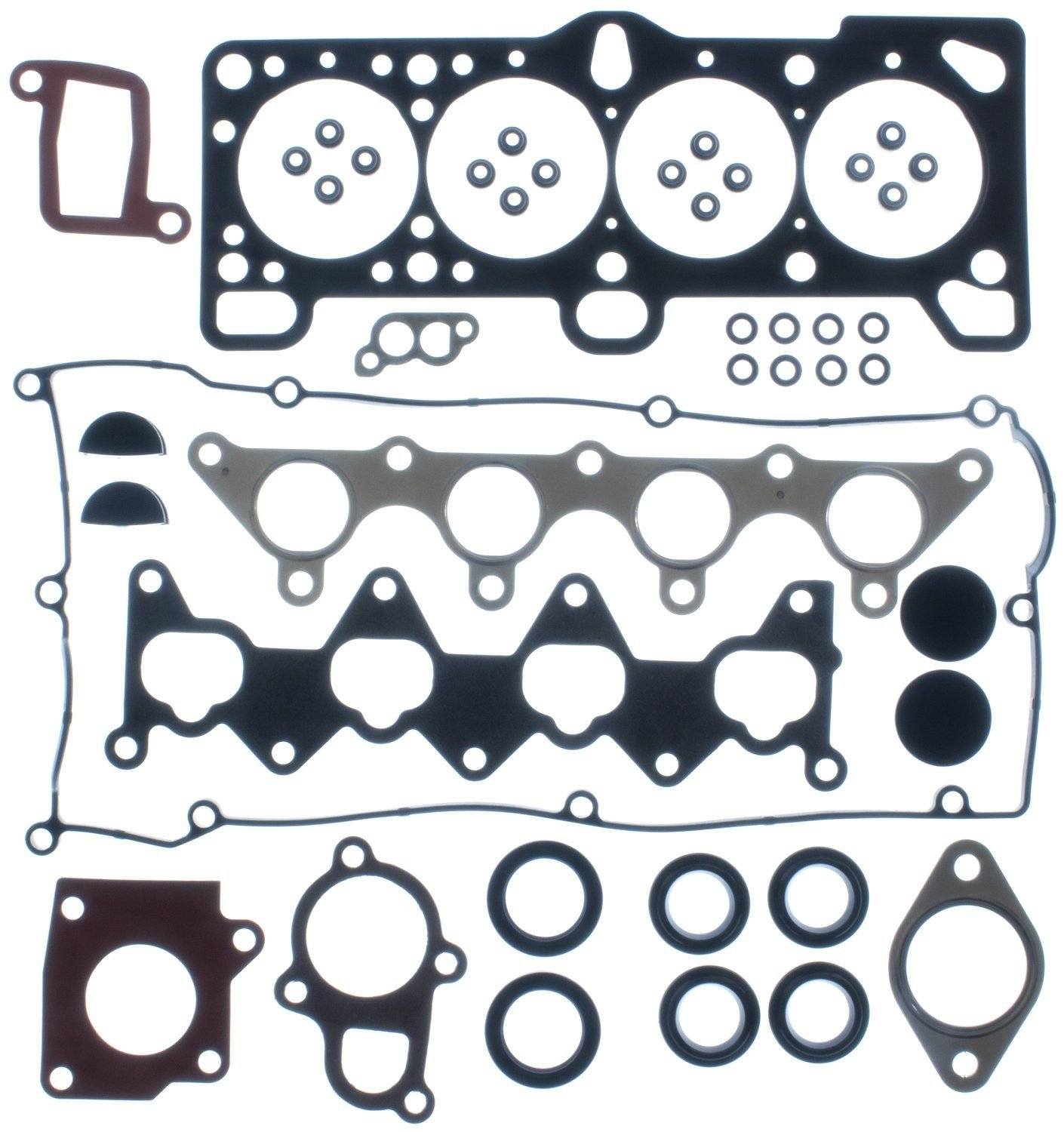 Hyundai Accent Engine Cylinder Head Gasket Set Replacement Apex Dj 2001 4 Cyl 16l Victor Gaskets Hs54484 Bolts Not Included