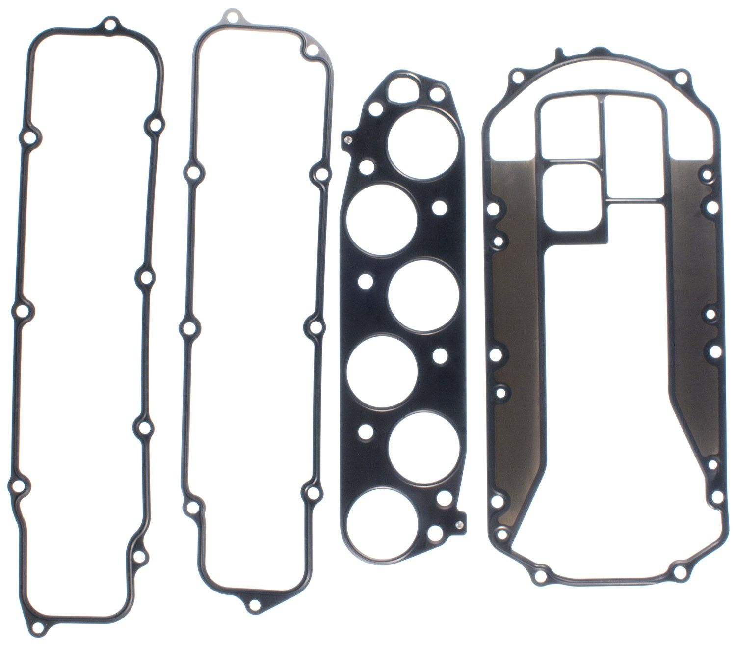 2002 Acura TL Fuel Injection Plenum Gasket 6 Cyl 3.2L (Victor Gaskets  MS19714) Rubber Coated Beaded Steel .