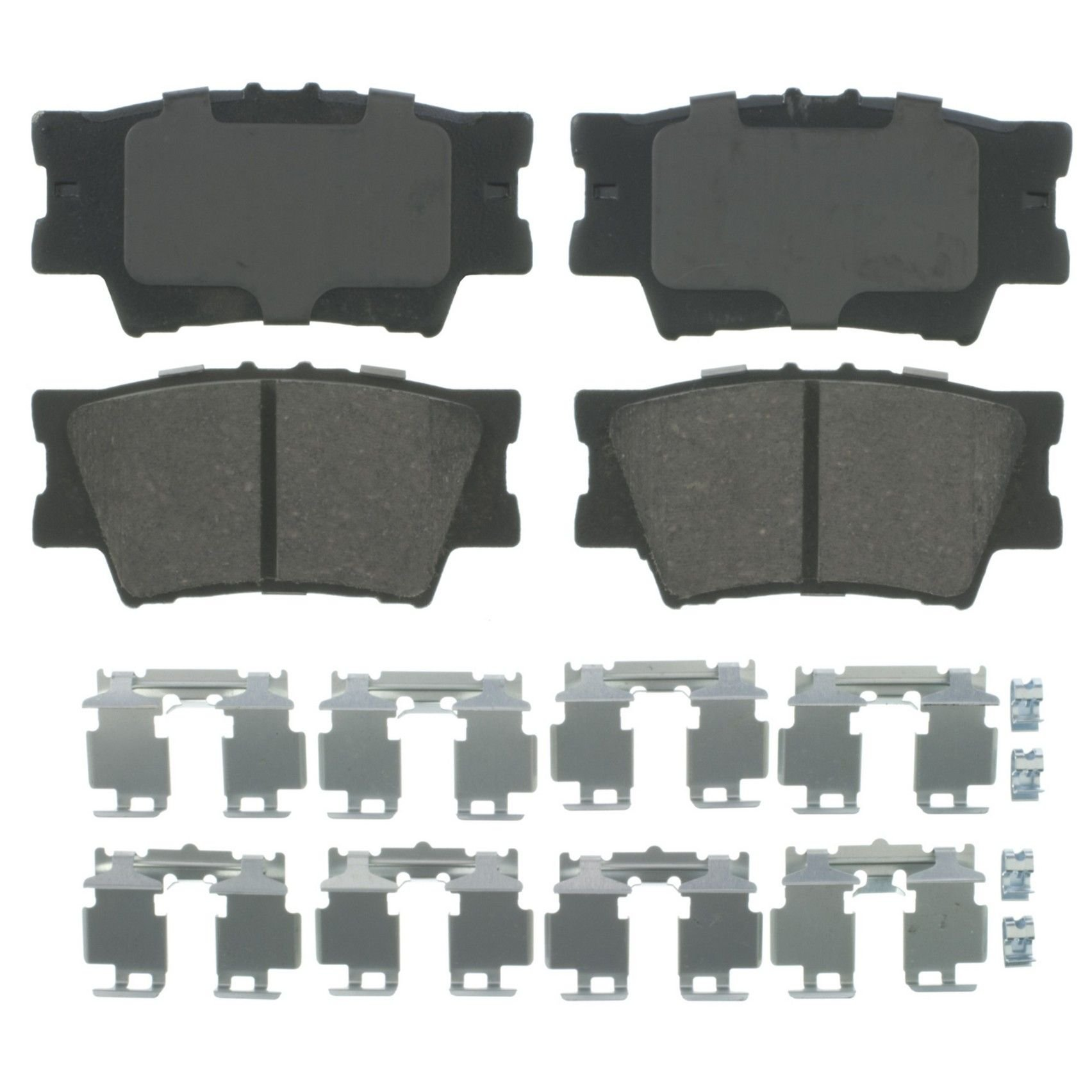 Transparent Hose /& Stainless Gold Banjos Pro Braking PBK4475-CLR-GOL Front//Rear Braided Brake Line