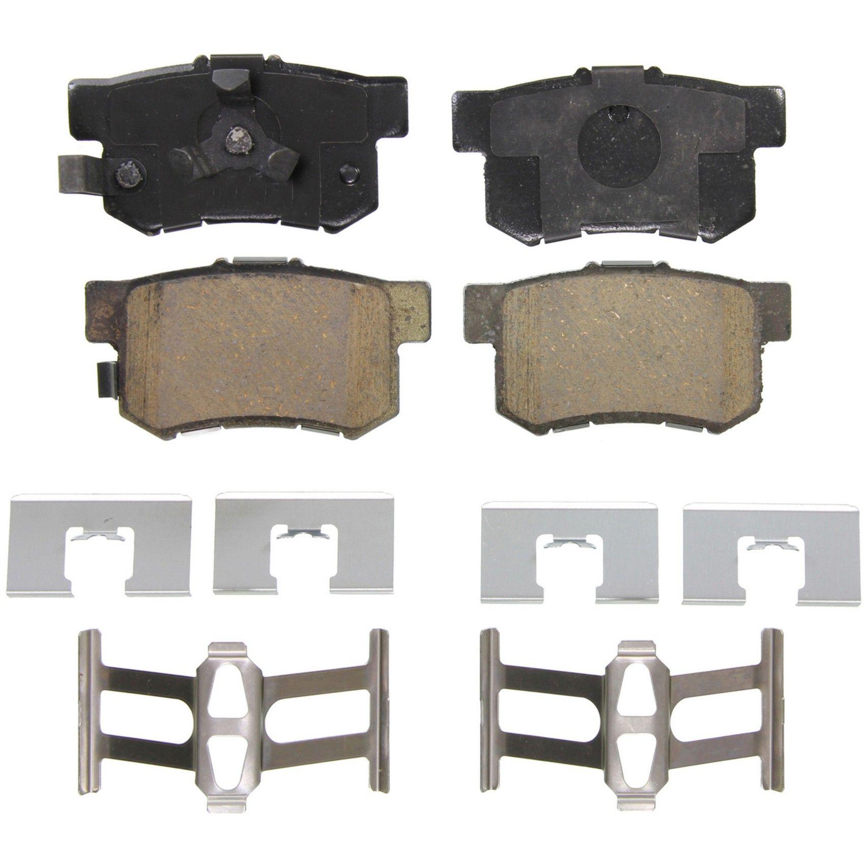 2005 Honda CR V Disc Brake Pad   Rear (Wagner Brakes ZD1086) OE Ceramic  Includes Installation Hardware Kit .
