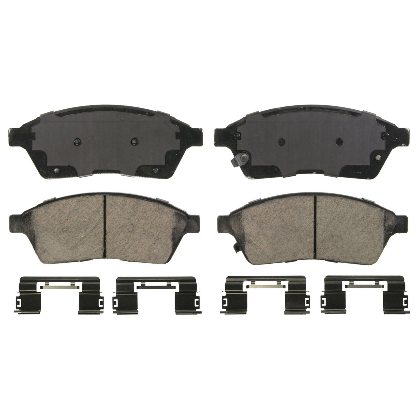 Cadillac Srx Disc Brake Pad Replacement Akebono Bosch Centric 2013 Wiring Diagram Front Wagner Brakes Zd1422 Oe Ceramic Includes Installation Hardware Kit Quickstop