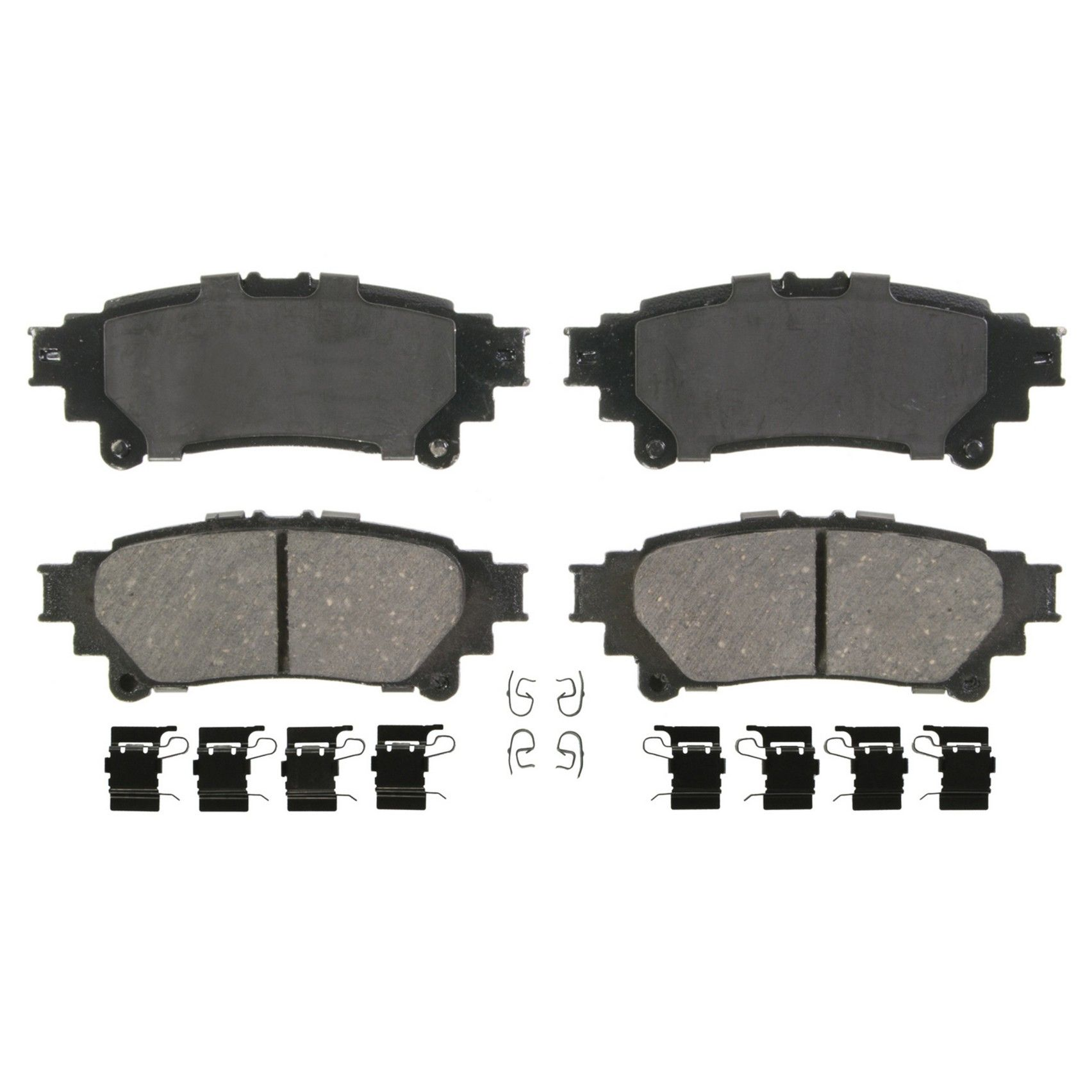 Toyota Prius V Disc Brake Pad Replacement Advics Akebono Beck 2012 Wiring Diagram Rear Wagner Brakes Zd1391 Oe Ceramic Includes Installation Hardware Kit Quickstop