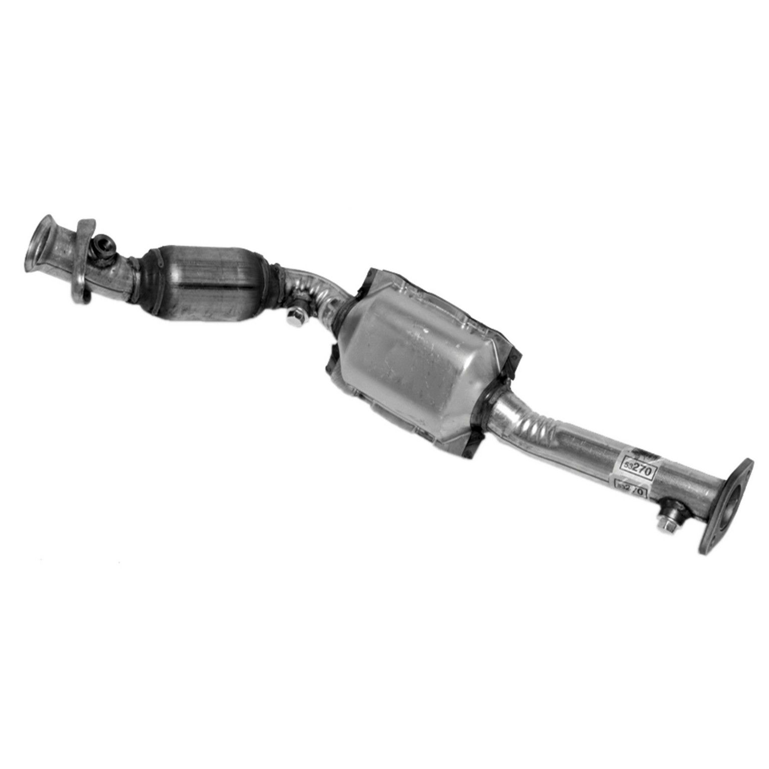 1995 Lincoln Town Car Catalytic Converter Right 8 Cyl 46l Walker 53270 Replaces Both Front Rear Oe Converters Fits Fed Calif Emiss: 2005 Lincoln Town Car Catalytic Converter At Woreks.co