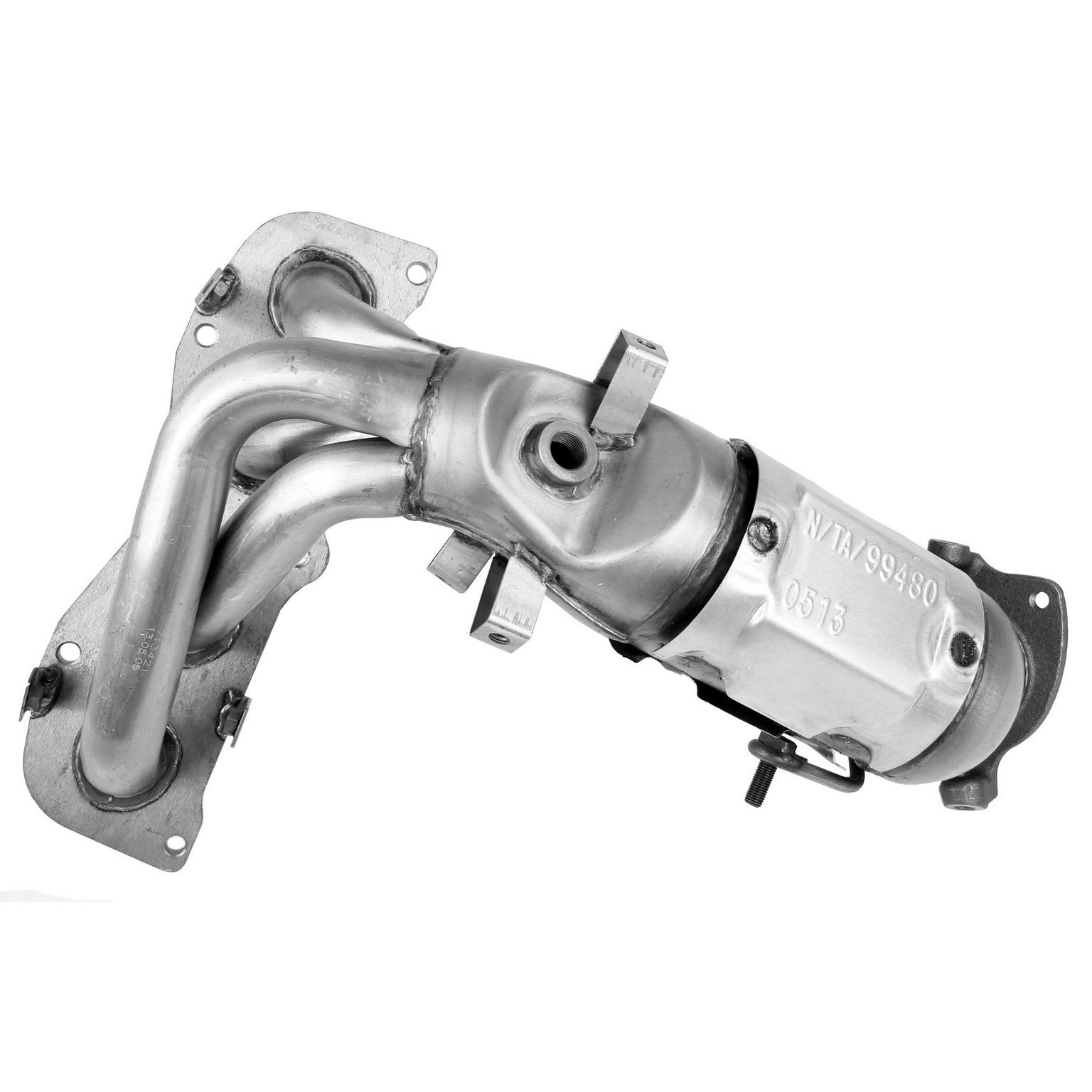 2002 Toyota Camry Exhaust Manifold With Integrated Catalytic Converter Front 4 Cyl 24l Walker 16384 Ultra Low Emission Vehicle Ulev Fits Fed Calif: 2001 Toyota Camry Le Catalytic Converter At Woreks.co