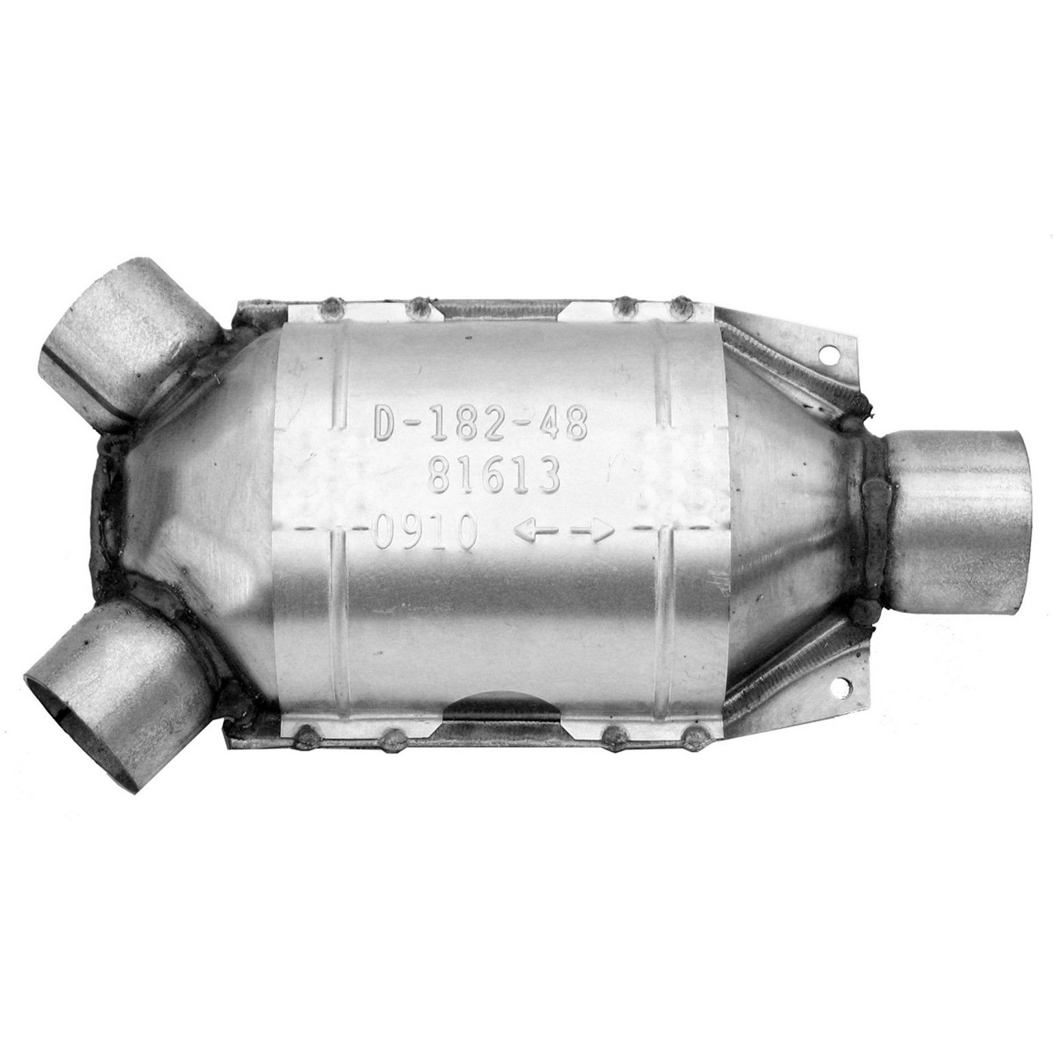 2001 Subaru Outback Catalytic Converter Rear 6 Cyl 30l Walker 81613 Engine Family 1fjxv030kfk Legal For Use In The States Of California And New: 2005 Subaru Outback Catalytic Converter California At Woreks.co