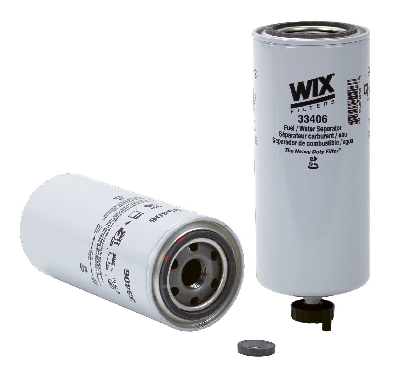 Volvo Vhd Fuel Filter Replacement Hastings Wix Go Parts 2003 6 Cyl 108l 33406
