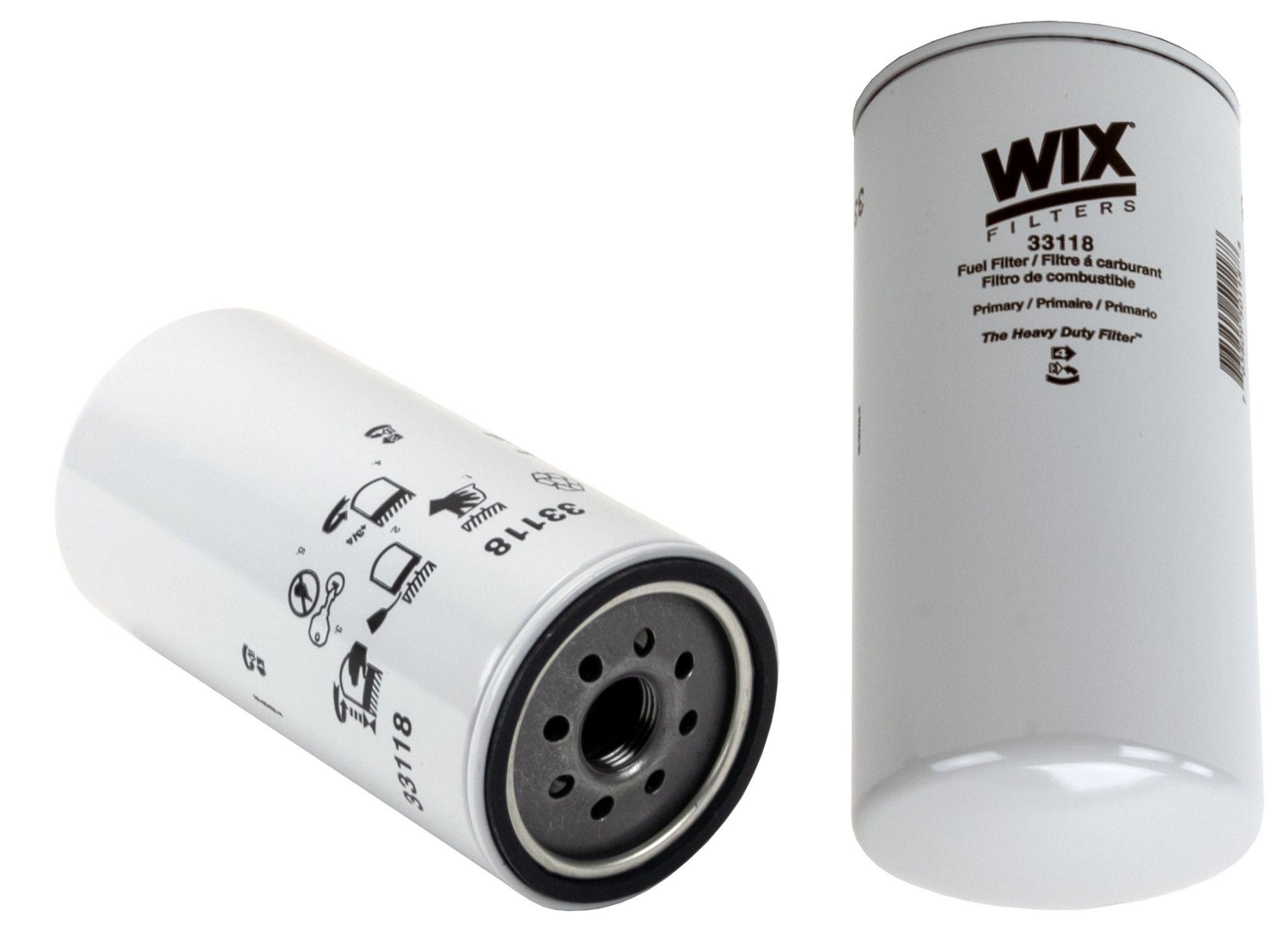 Ford L9000 Fuel Filter Replacement Hastings Wix Go Parts 95 F250 Diesel 1995 Primary 6 Cyl 111l 33118