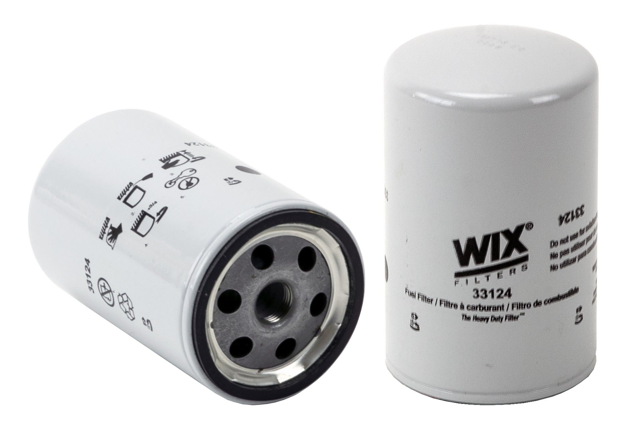 1982 GMC K2500 Suburban Fuel Filter 8 Cyl 6.2L (Wix 33124)