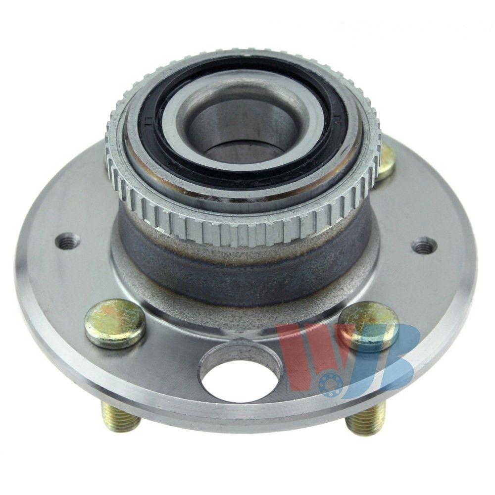2001 Acura Integra Wheel Bearing and Hub Assembly - Rear (WJB WA513105)