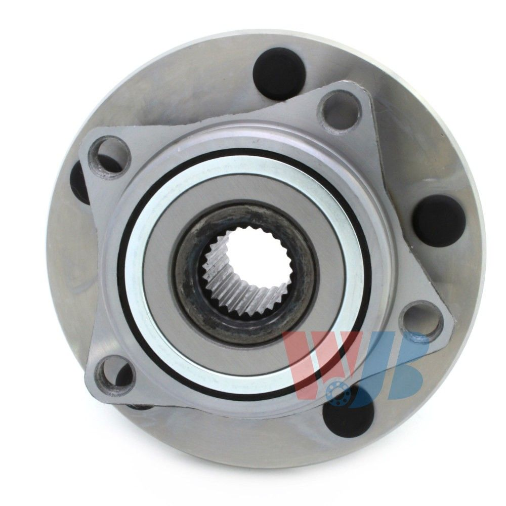 Dodge Avenger Wheel Bearing And Hub Assembly Replacement Centric 2012 Transmission Diagram 2000 Front Wjb Wa513157
