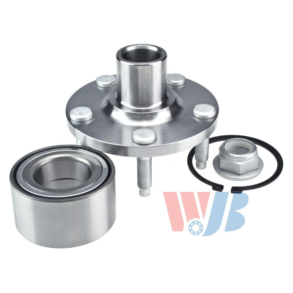 Ford Edge Wheel Bearing And Hub Assembly Front Wjb Wak