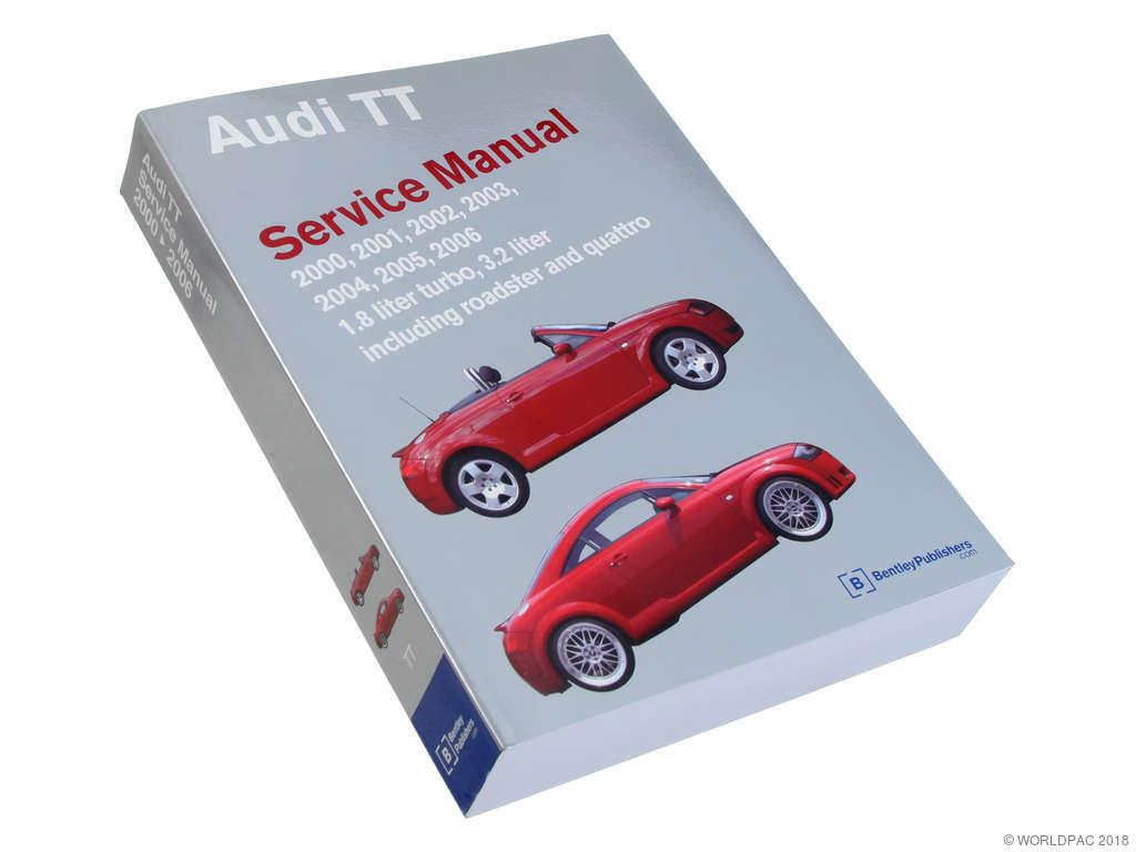 2000 Audi TT Repair Manual (Bentley W0133-1736743)