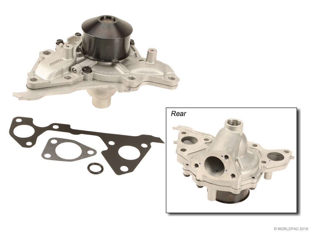 Kia Sorento Engine Water Pump Replacement (AISIN, Airtex