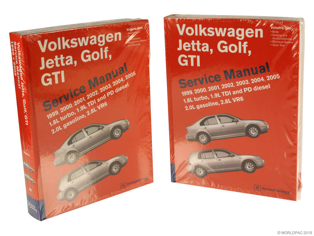 Volkswagen Jetta Repair Manual Replacement Bentley Chilton Haynes 1996 Vr6 Engine Diagram 2000 W0133 1610743