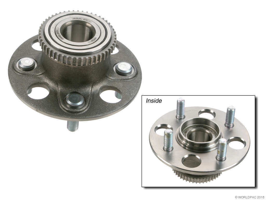2001 Acura EL Wheel Bearing and Hub Assembly (NTN W0133-1609613) with  A.B.S. .