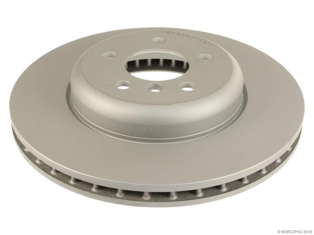 2012 bmw 535i xdrive disc brake rotor zimmermann w0133 1904821