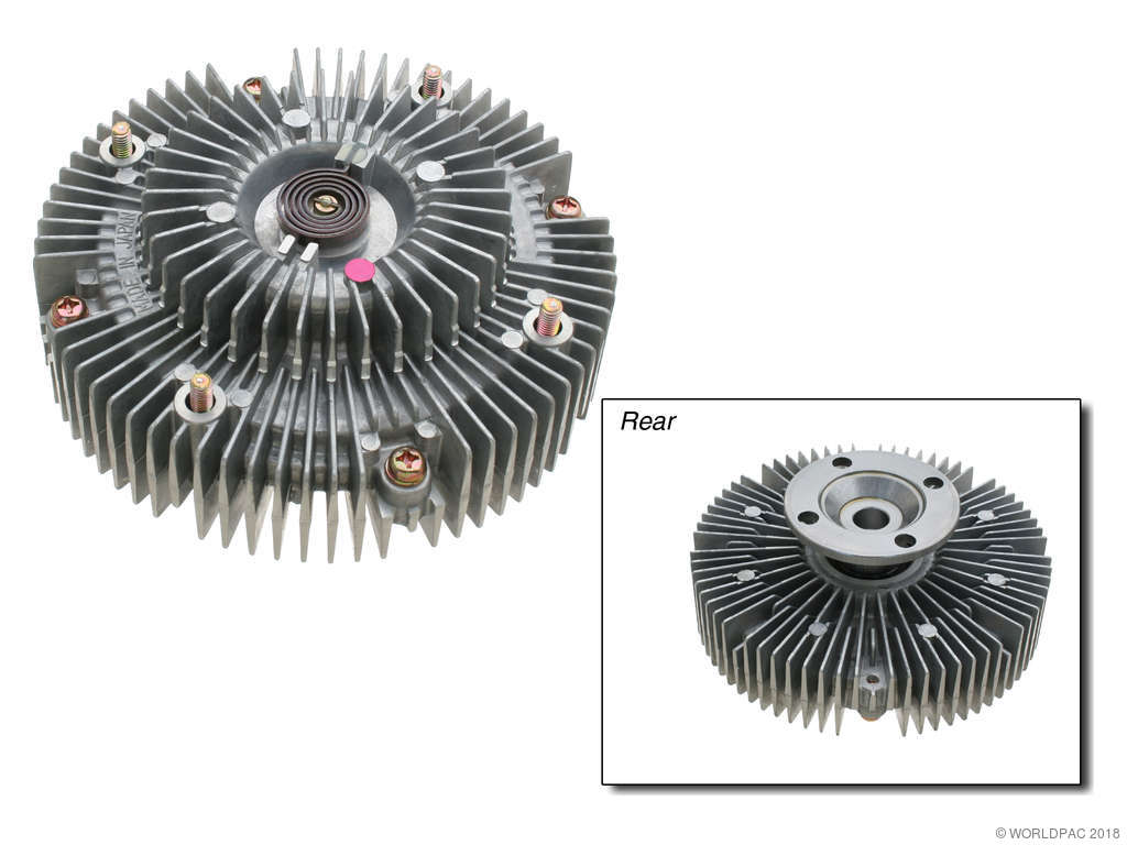Toyota 4runner Engine Cooling Fan Clutch Replacement Aisin 1992 Water Pump Production 11 1995 Must Follow Manufacturer Torque Specs When Reinstalling The Pulleys And Housing