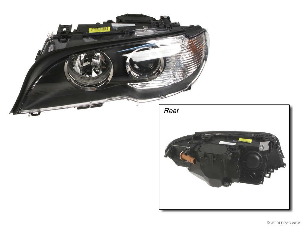 BMW 330Ci Headlight Assembly Replacement (Genuine, Hella, Magneti