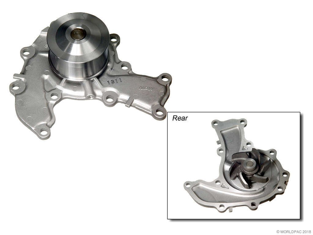 Isuzu Rodeo Engine Water Pump Replacement Aisin Airtex 1992 1993 6 Cyl 32l Npw W0133 1617075 Production 11
