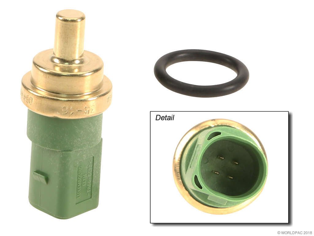 Volkswagen Beetle Engine Coolant Temperature Sensor Replacement Color 1999 4 Cyl 19l Elth W0133 1623711 Chas 430 801 Pin Green 20mm Dual Sender