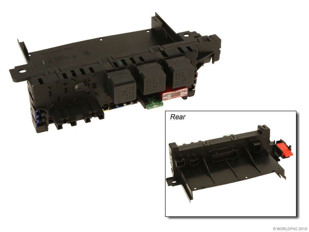 2000 Mercedes-Benz S430 Fuse Box (Original Equipment W0133-1961352) Central  Electrical System, Rear .