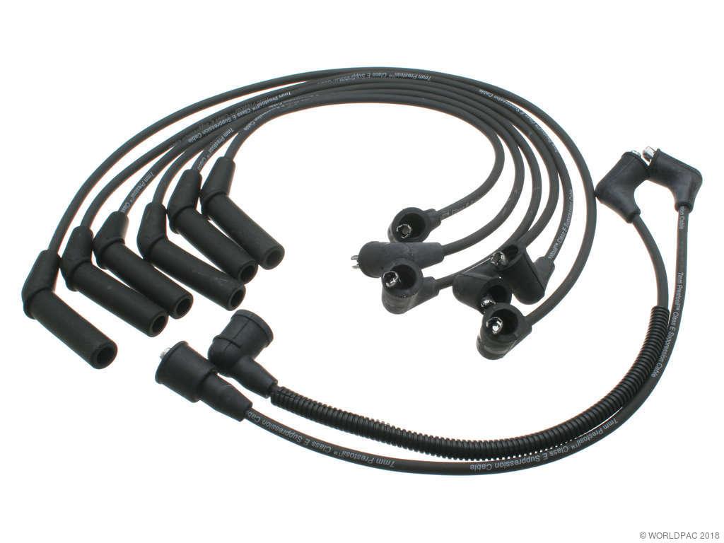 Dodge Dynasty Spark Plug Wire Set Replacement Beck Arnley Wiring 1988 6 Cyl 30l Prestolite W0133 1625164 3 Engine