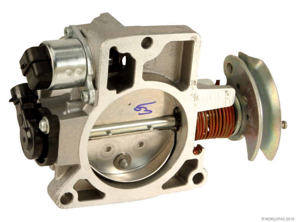 Chevrolet S10 Fuel Injection Throttle Body Replacement (ACDelco