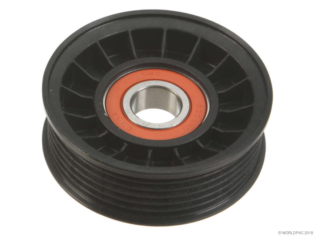 Jeep Grand Cherokee Drive Belt Idler Pulley Replacement Acdelco Timing 1999 2010 6 Cyl 37l Gates W0133 1826638 Grooved