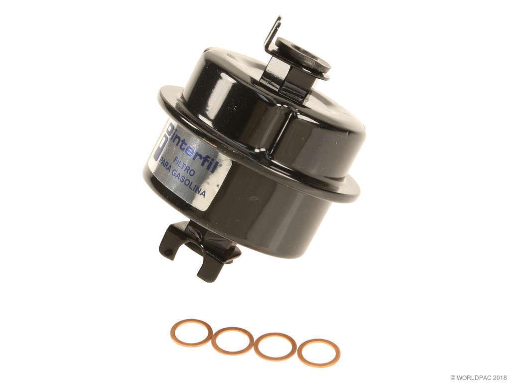 1986 Honda Civic Fuel Filter (Interfil W0133-1632913)