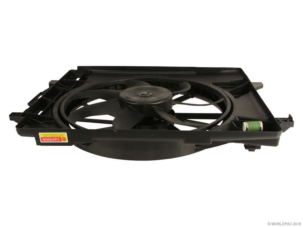 Dodge Grand Caravan Engine Cooling Fan Assembly Replacement