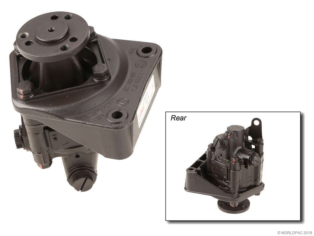BMW 325i Power Steering Pump Replacement (Atlantic Automotive Eng