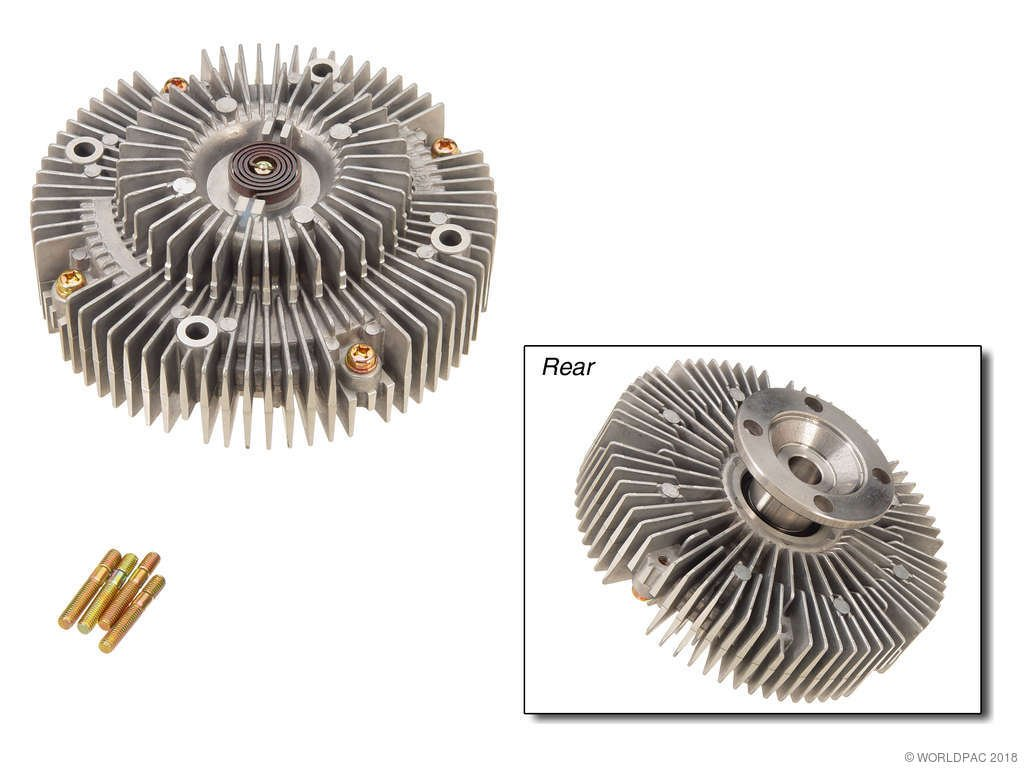 Isuzu Rodeo Engine Cooling Fan Clutch Replacement Beck Arnley Four 1992 1993 6 Cyl 32l Npw W0133 1611309 Production 11